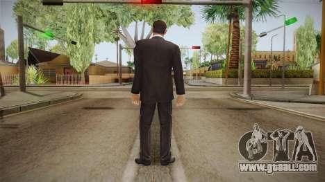 007 Sean Connery Cibbert Black Tuxedo for GTA San Andreas third screenshot