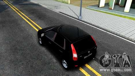 VAZ Kalina 2119 for GTA San Andreas back view