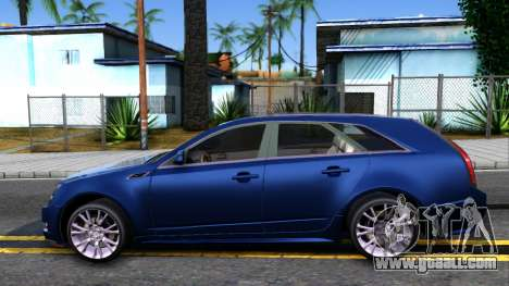 Cadillac CTS Sport for GTA San Andreas left view