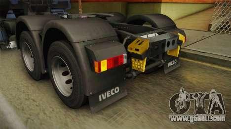 Iveco Stralis Hi-Way 560 E6 6x4 v3.2 for GTA San Andreas interior