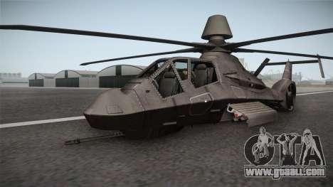 RAH-66 Comanche Retracted for GTA San Andreas