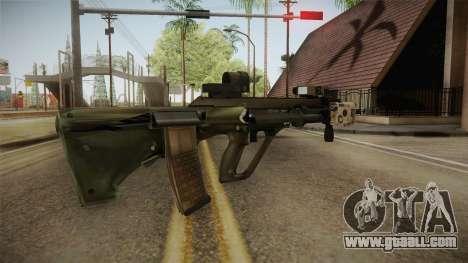 Battlefield 4 - Steyr AUG for GTA San Andreas second screenshot