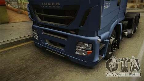 Iveco Stralis Hi-Way 560 E6 6x4 v3.2 for GTA San Andreas side view