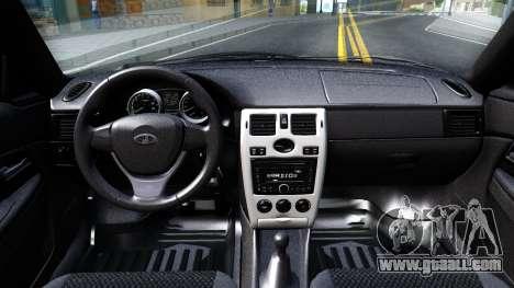VAZ 21728 for GTA San Andreas inner view