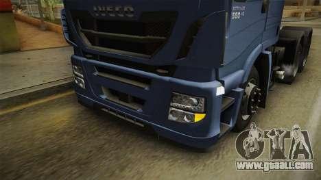 Iveco Stralis Hi-Way 560 E6 6x4 v3.2 for GTA San Andreas upper view