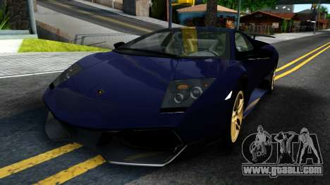 Lamorghini Murcielago LP640-4 SV 2010 for GTA San Andreas