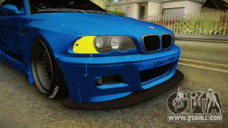 BMW M3 E46 Liberty Walk for GTA San Andreas side view