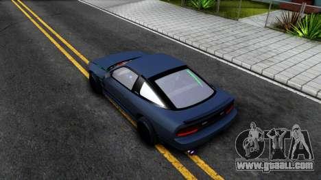 Nissan Silvia Sil80 for GTA San Andreas back view