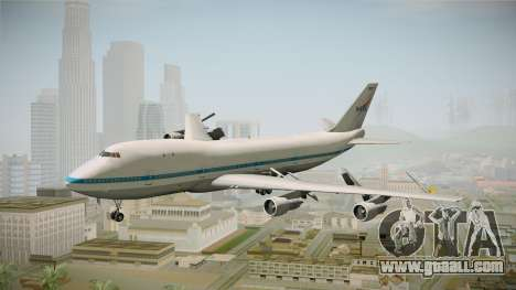 Boeing 747-123 NASA for GTA San Andreas back left view