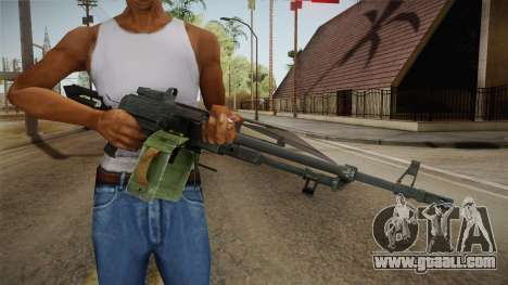 Battlefield 4 - PKP Pecheneg for GTA San Andreas third screenshot