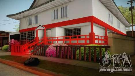 Japanese Castle CJ House for GTA San Andreas forth screenshot