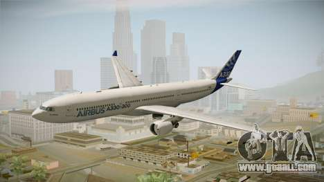 Airbus A330-300 F-WWKA for GTA San Andreas back left view
