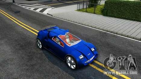 Alien ZR-350 for GTA San Andreas right view