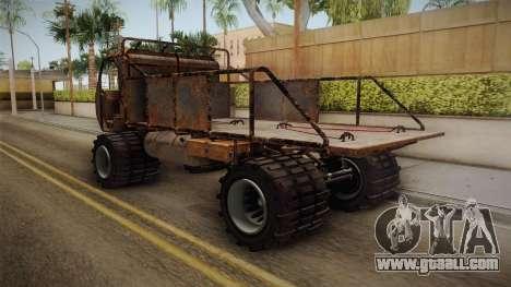 GTA 5 MTL Wastelander IVF for GTA San Andreas back left view