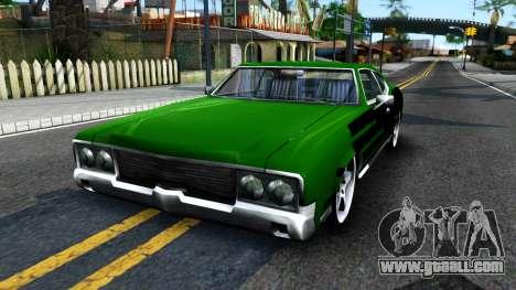 Sabre Drift Green Strips for GTA San Andreas