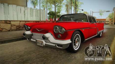 Cadillac Eldorado Brougham 1957 HQLM for GTA San Andreas back left view