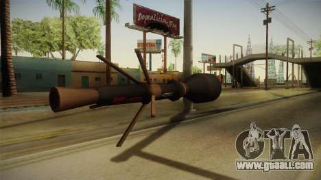 Blacklight: Retribution - RL5 for GTA San Andreas second screenshot