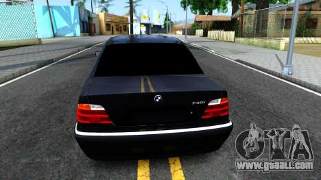 BMW 730i E38 for GTA San Andreas back left view