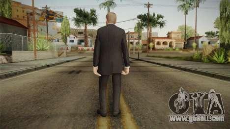 007 James Bond Daniel Craig Suit v1 for GTA San Andreas third screenshot