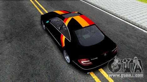 Mercedes-Benz CLK55 AMG 2003 for GTA San Andreas back view