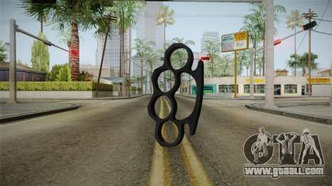 Brass Knuckles for GTA San Andreas second screenshot
