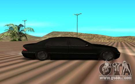 Mercedes s600 for GTA San Andreas left view