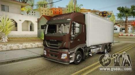 Iveco Stralis Hi-Way 560 E6 6x2 Cooliner v3.0 for GTA San Andreas
