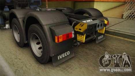 Iveco Stralis Hi-Way 560 E6 6x4 v3.2 for GTA San Andreas bottom view