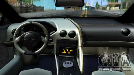 Lamorghini Murcielago LP640-4 SV 2010 for GTA San Andreas inner view
