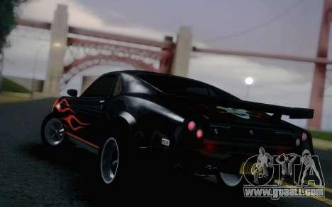 AMC Javelin Speedevil for GTA San Andreas left view