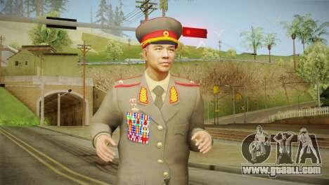 007 Legends Korean General for GTA San Andreas
