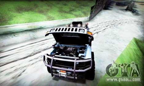 HUMMER H3 OFF ROAD for GTA San Andreas