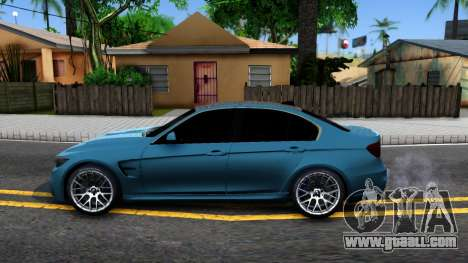 BMW M3 F30 for GTA San Andreas left view