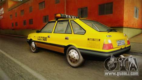 FSO Polonez Caro L.C.C TAXI for GTA San Andreas left view