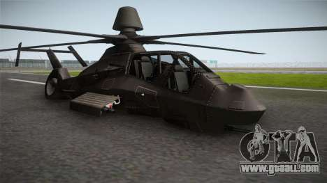 RAH-66 Comanche Retracted for GTA San Andreas right view