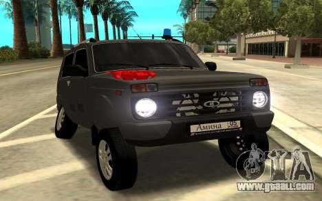 NIVA URBAN for GTA San Andreas