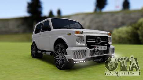 Vaz 2121 Brabus Armenia for GTA San Andreas