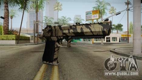 Desert Eagle Black Shark Camo for GTA San Andreas