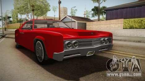 GTA 5 Albany Virgo Continental for GTA San Andreas