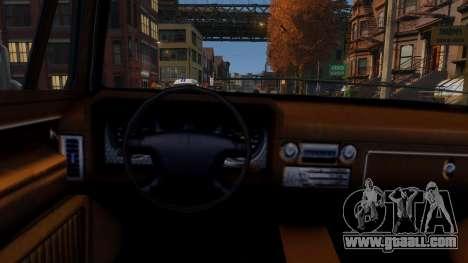 Declasse Rancher Sportside for GTA 4 inner view