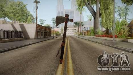 Dead Rising 2 - Tomahawk for GTA San Andreas third screenshot