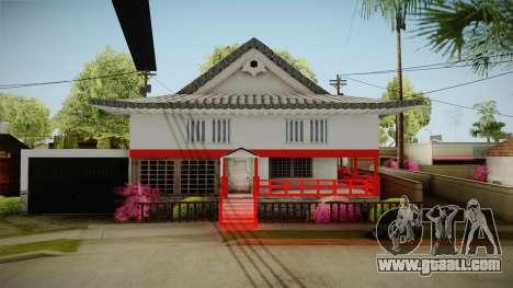 Japanese Castle CJ House for GTA San Andreas second screenshot