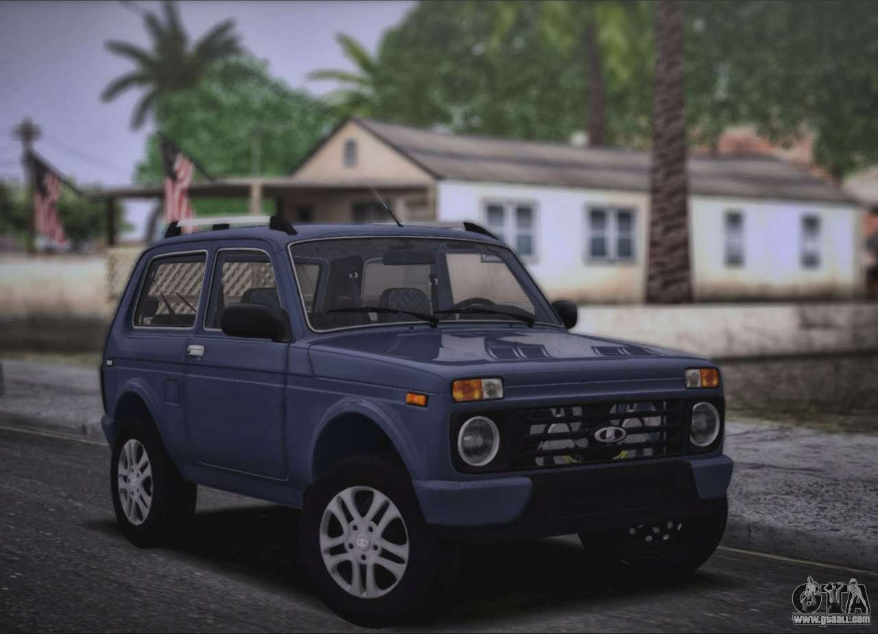 lada niva urban 2016 for gta san andreas. Black Bedroom Furniture Sets. Home Design Ideas
