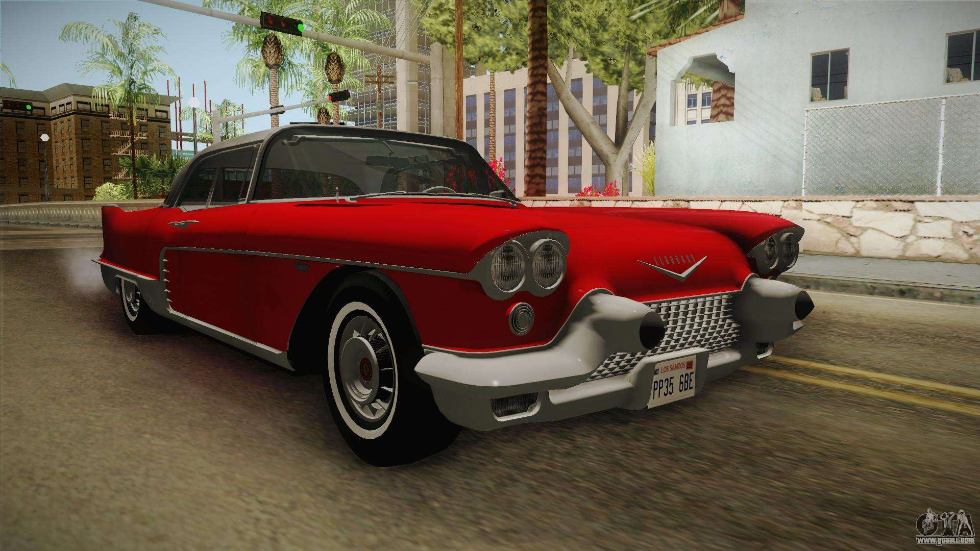 Cadillac Eldorado For Gta San Andreas 1978 Deville On Blades Brougham 1957 Hqlm