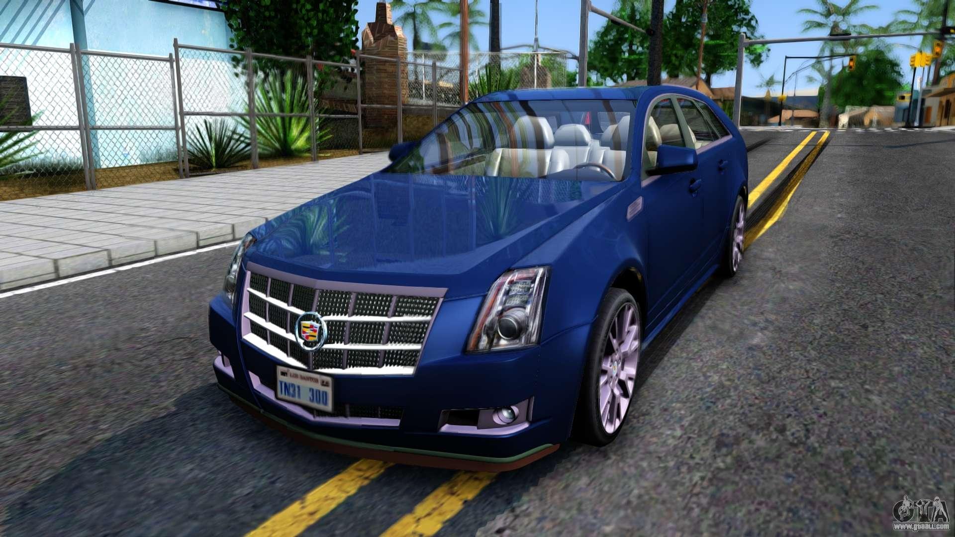 Cadillac CTS Sport For GTA San Andreas. Cars