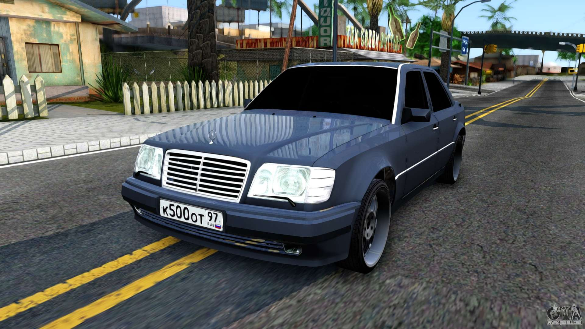 Mercedes benz w124 e500 for gta san andreas for Mercedes benz w124