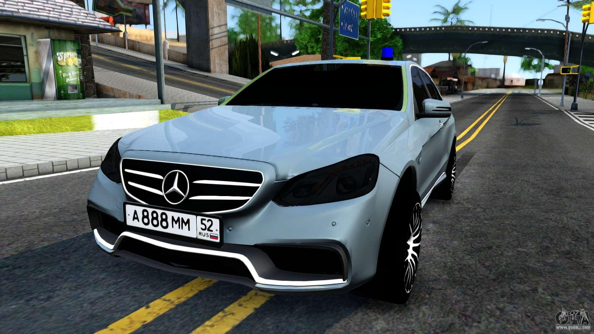 Mercedes benz e63 amg for gta san andreas for Mercedes benz e63 amg