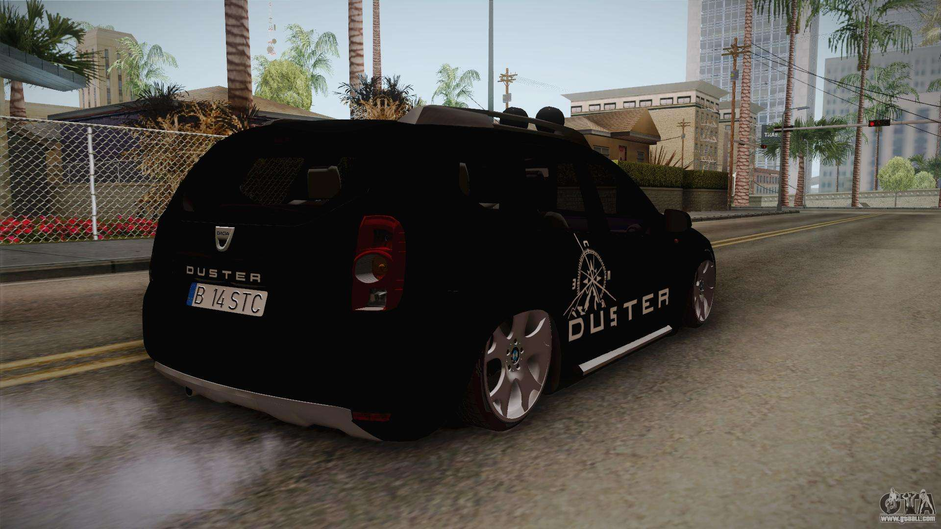 dacia duster aventure stance for gta san andreas. Black Bedroom Furniture Sets. Home Design Ideas