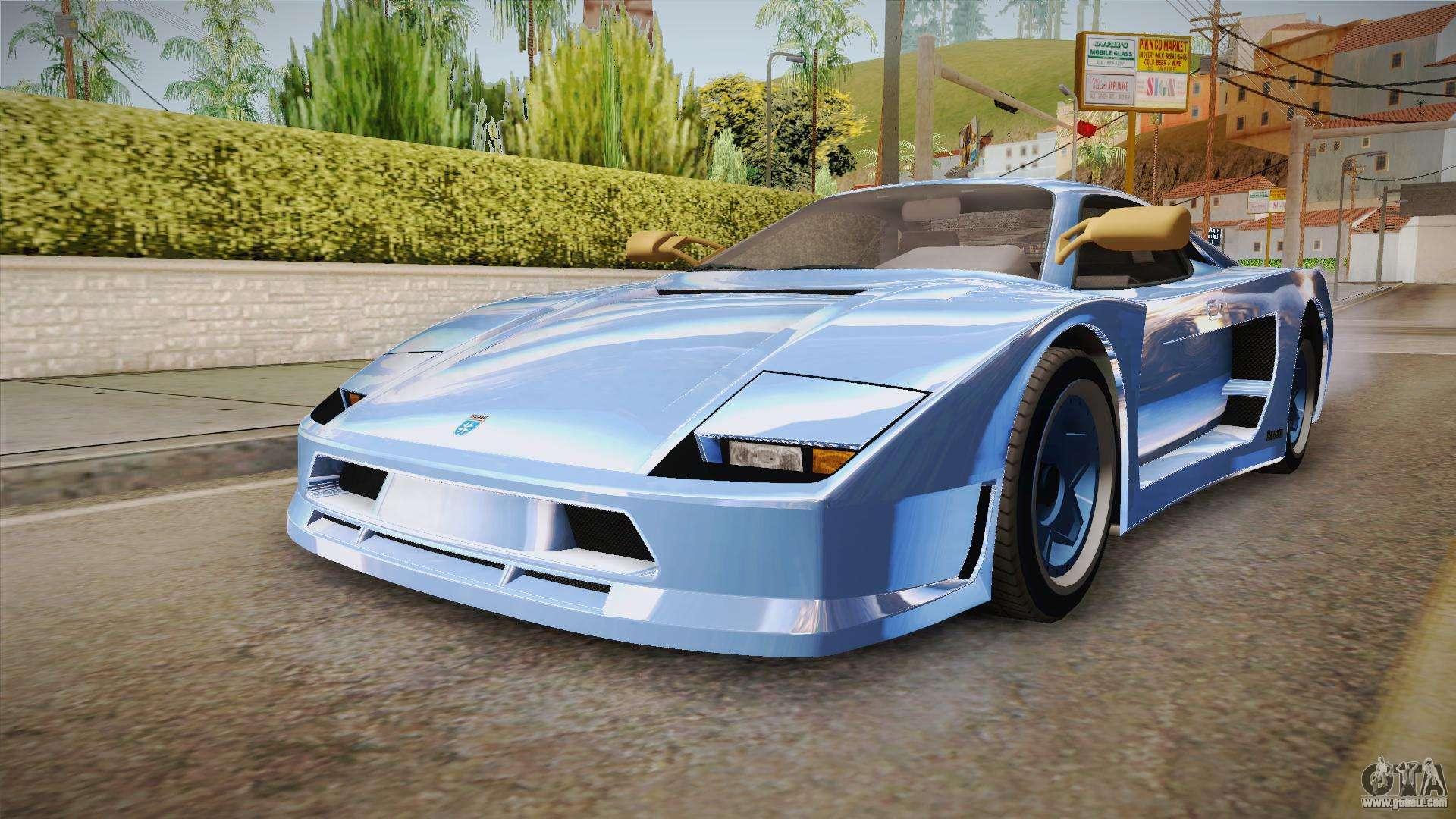 GTA 5 Grotti Turismo Classic for GTA San Andreas
