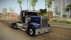 Kenworth W900 ATS 6x4 Cab Low for GTA San Andreas